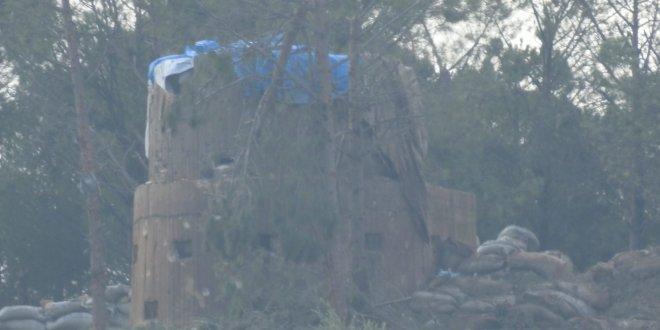 Burseya Dağı alınmadan önce teröristlerin yaptığı hazırlıklar böyle görüntülendi