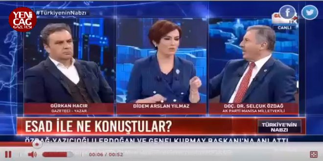 AKP'li Özdağ'dan Esad görüşmesi açıklaması