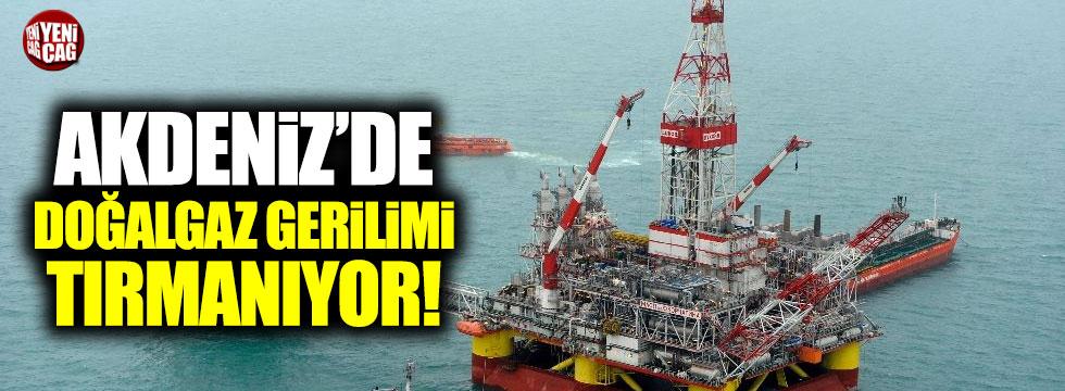 Akdeniz'de doğalgaz gerilimi artıyor