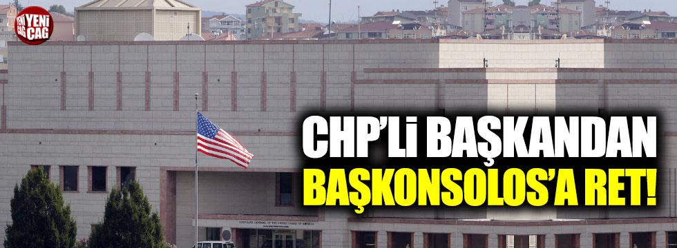 Edirne'den ABD'ye ret