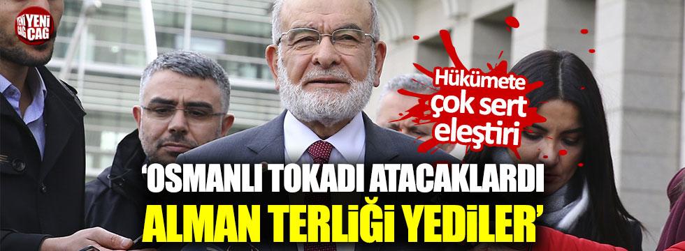 """Temel Karamollaoğlu: """"Osmanlı tokadı atacaklardı, Alman terliği yediler"""""""