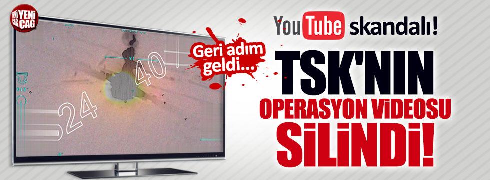 YouTube, TSK'nın videosunu sildi