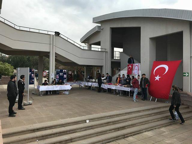 ODTÜ Kuzey Kıbrıs Kampüsü'nde Mehmetçik için rekor bağış