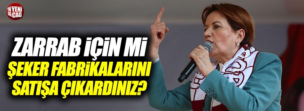 Meral Akşener Hatay'da konuştu