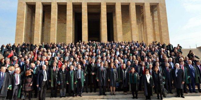 Türkiye Barolar Birliği, Anıtkabir'e çıktı