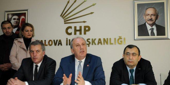 """CHP'li İnce: """"Yüzde 3 ile Meclis'e gireceksin; hak mı bu?"""""""