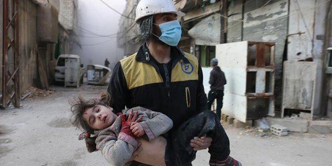Esad yine Doğu Guta'ya saldırdı! 32 ölü
