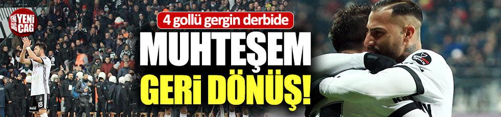 Beşiktaş-Fenerbahçe 3-1 (Maç Özeti)