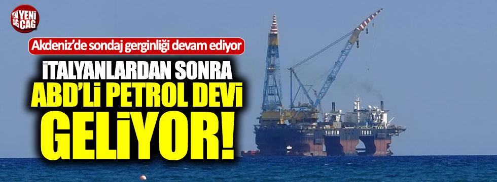 ABD'li petrol sondajı için Akdeniz'e geliyor