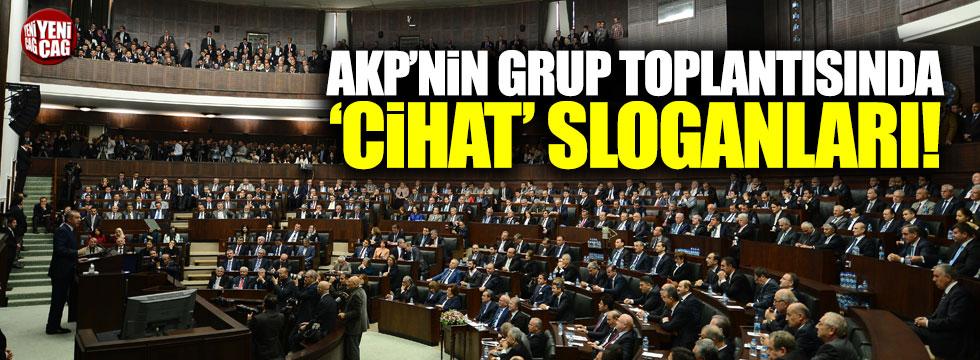 AKP toplantısında 'cihat' sloganı