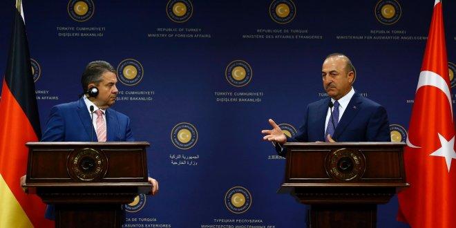 Çavuşoğlu ve Gabriel'den basın açıklaması