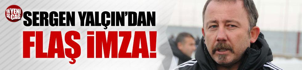 Sergen Yalçın resmen Konyaspor'da