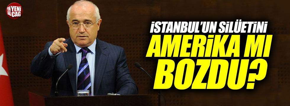 Çiçek: İstanbul'un silüetini Amerika mı bozdu?