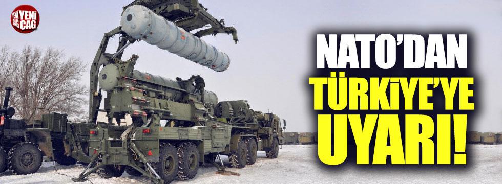 NATO'dan Türkiye'ye S-400 uyarısı