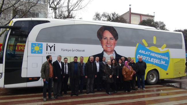 İYİ Parti Çanakkale'de dertleşti