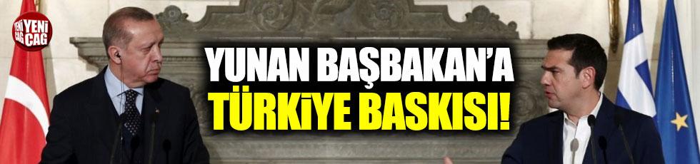 Çipras'a Türkiye baskısı