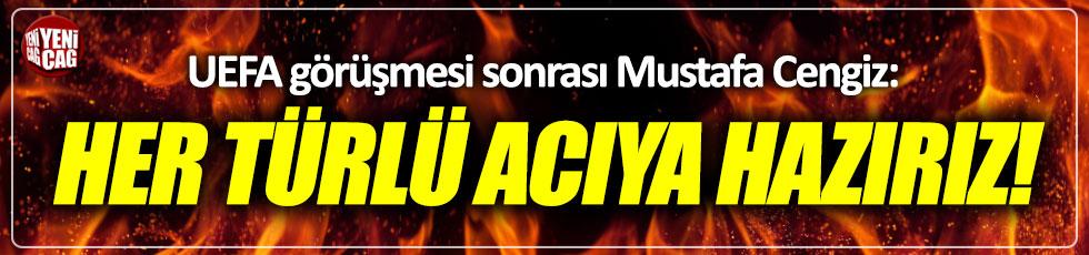 Galatasaray'ın UEFA ile görüşmesi sona erdi