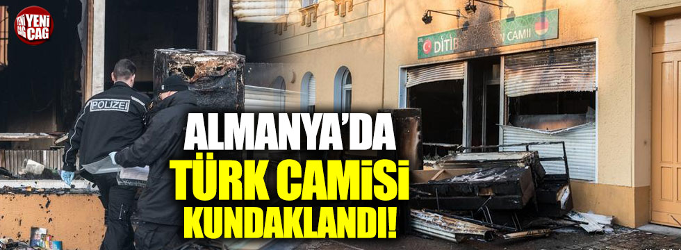 Berlin'deki Türk camisinde kundaklama şüphesi