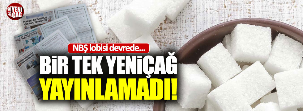 NBŞ lobisinden 'Nişasta şekerini' aklama girişimi
