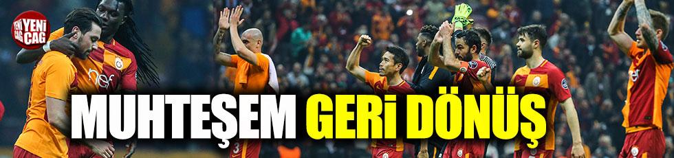 Galatasaray-Konyaspor 2-1 (Maç Özeti)