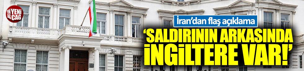 """İran: """"Saldırının arkasında İngiltere var"""""""