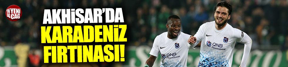 Trabzonspor Akhisar'ı rahat geçti