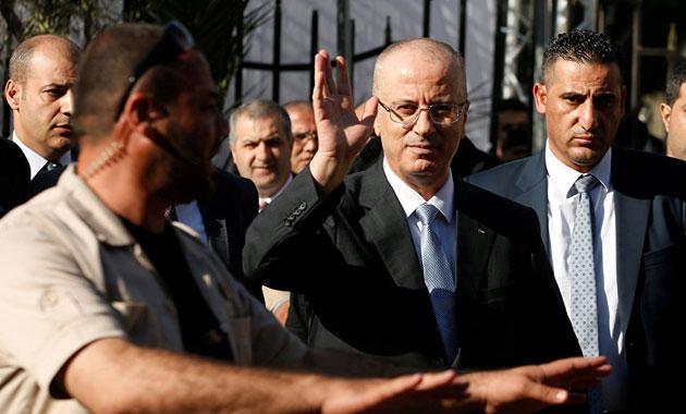 Filistin Başbakanı'na saldırı