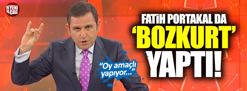Fatih Portakal da, 'Bozkurt' işareti yaptı
