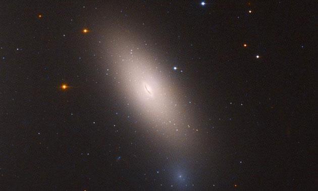 NASA 'kalıntı galaksi' görüntüledi