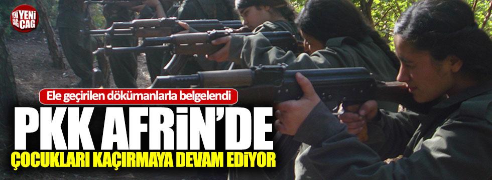 PKK, Afrinde çocukları savaşa zorluyor