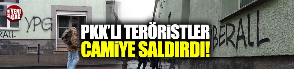 PKK'lı teröristler Almanya'da cami ve restorana saldırdı