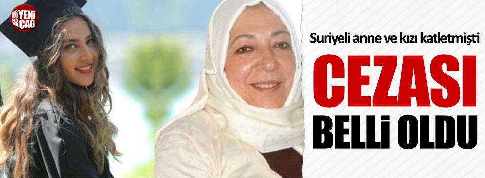 Suriyeli anne ve kızının ölümüne ilişkin davada karar