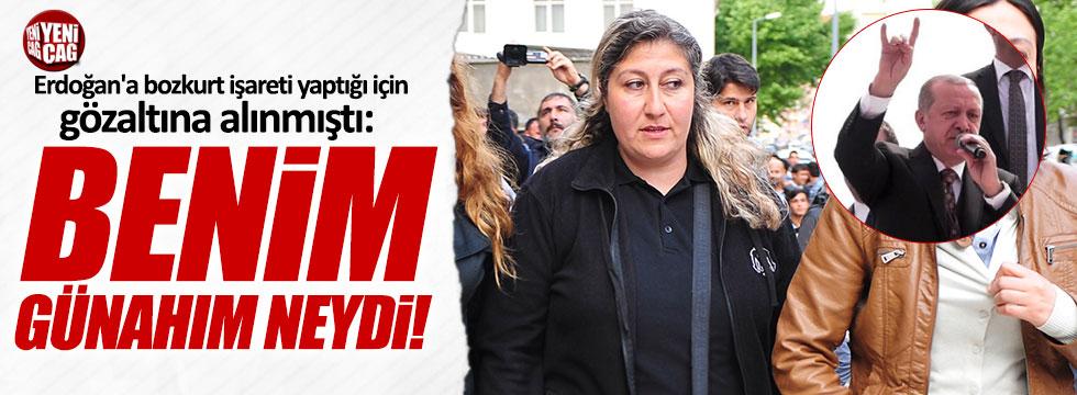 """Erdoğan'a 'bozkurt' yaptığı için gözaltına alınmıştı: """"Benim günahım neydi"""""""