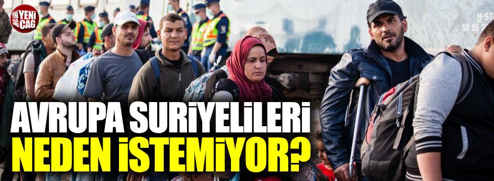 Avrupa, Suriyelileri neden istemiyor?