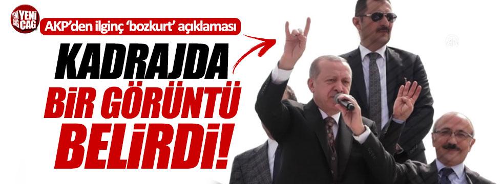 AKP'den ilginç 'bozkurt' açıklaması