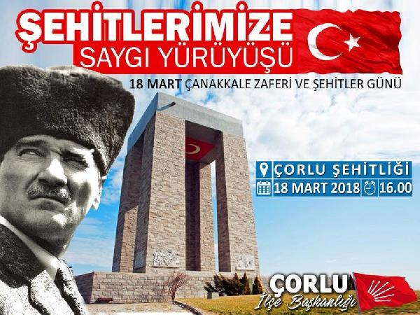 Çorlu'da Atatürk posterlerine çirkin saldırı