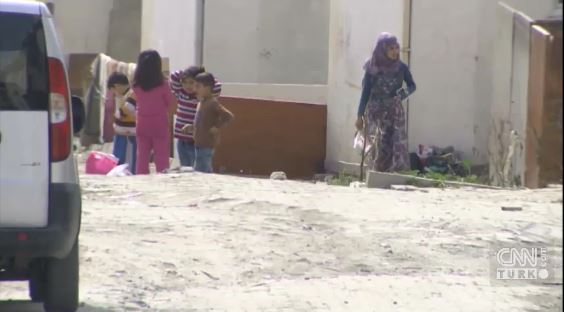 Suriyeliler Beylikdüzü'nde köy kurdu