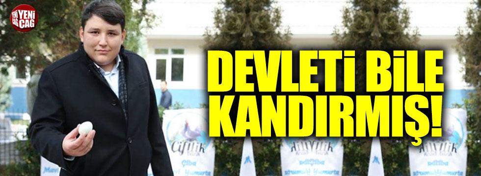 Çiftlik Bank'ın CEO'su Mehmet Aydın devleti bile kandırmış!