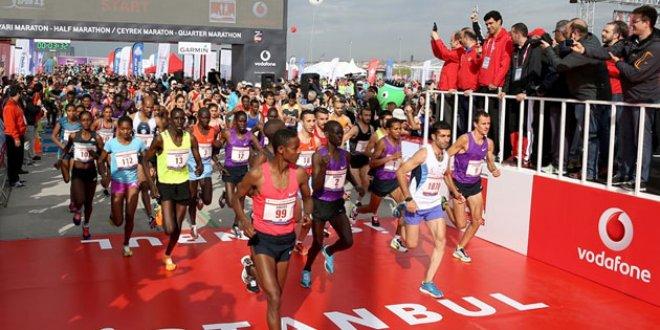 İstanbul Maratonu ödülleri belirlendi