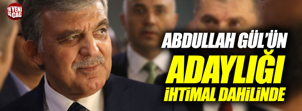 Abdullah Gül Saadet'ten aday olacak mı?