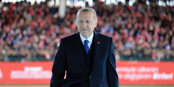 Erdoğan Çanakkale Zaferi programında konuştu