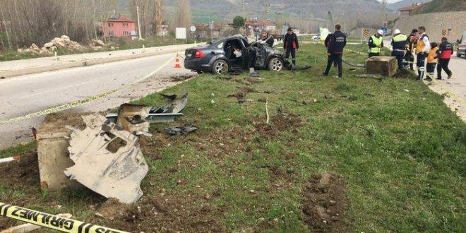 Bakan'ın koruma polisleri kaza yaptı