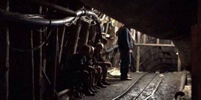 Madende göçük: 2 yaralı
