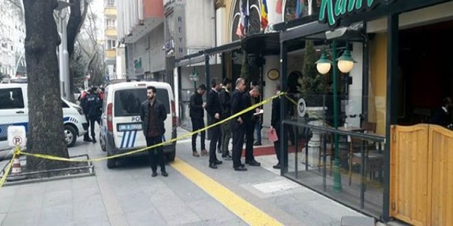 Ankara'da otel önünde silahlı kavga