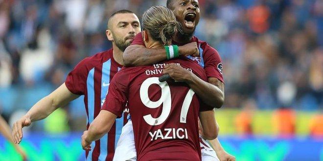 Yusuf Yazıcı esti Trabzonspor kazandı