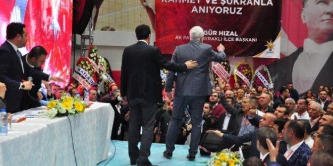 AKP kongresinde gerginlik