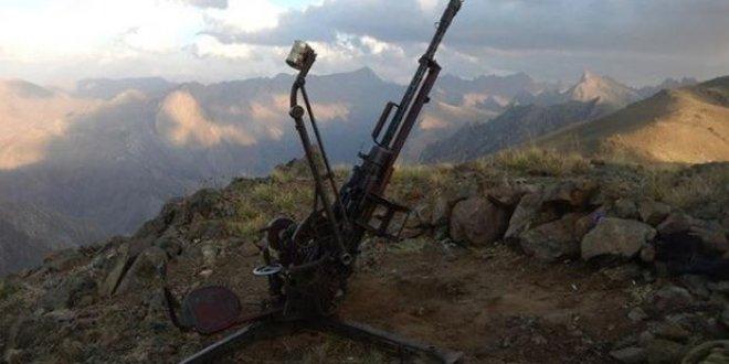 PKK'ya ait uçaksavar ele geçirildi