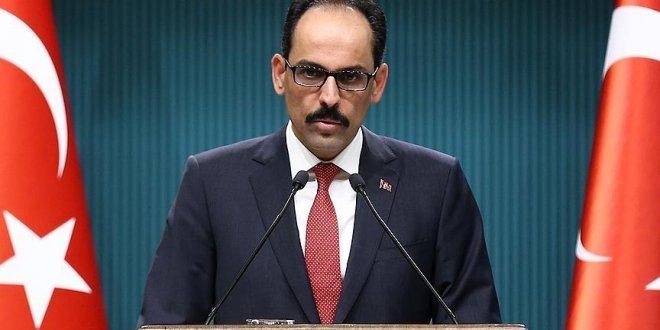 """Kalın, """"TSK şimdilik Afrin'de kalacak"""""""