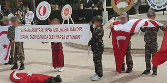 KKTC'de tepki çeken görüntüler