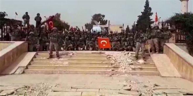 Afrin'de and içen taburun hikayesi